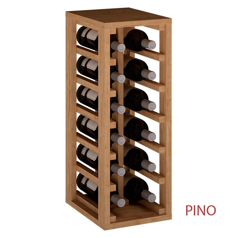 Botellero Apilable De 12 Botellas