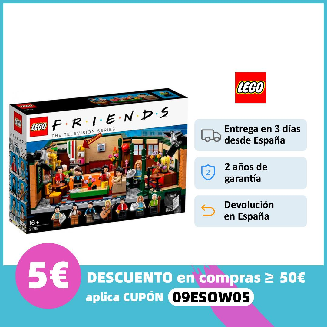 LEGO 21319 Friends Central Perk Juego de construcción|Figurillas| - AliExpress