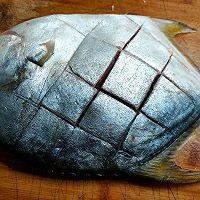 清蒸金鲳鱼的做法图解2