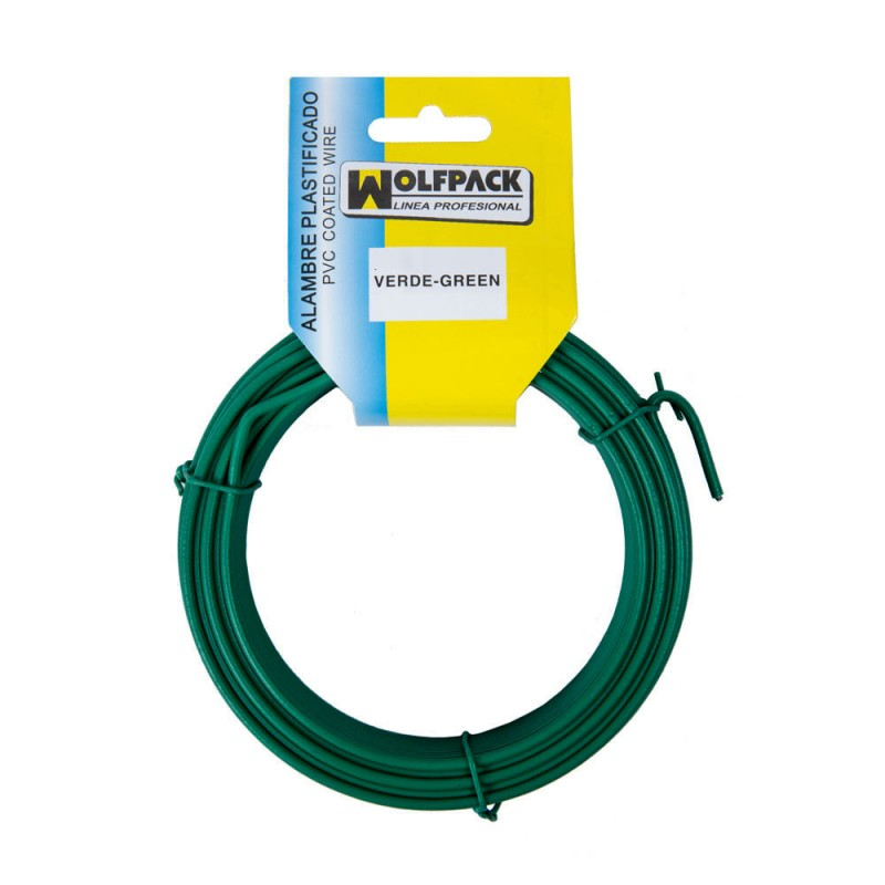 Plastic Wire (Roll 20 Meters) Green NO. 16/2.7mm.