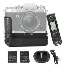 Meike MK-XT3 Pro пульт дистанционного управления Управление Батарейная ручка ручной для ЖК-дисплея с подсветкой Fujifilm Fuji X-T3 XT3 как VG-XT3 с NP-W126 Батарея и двойной Зарядное устройство