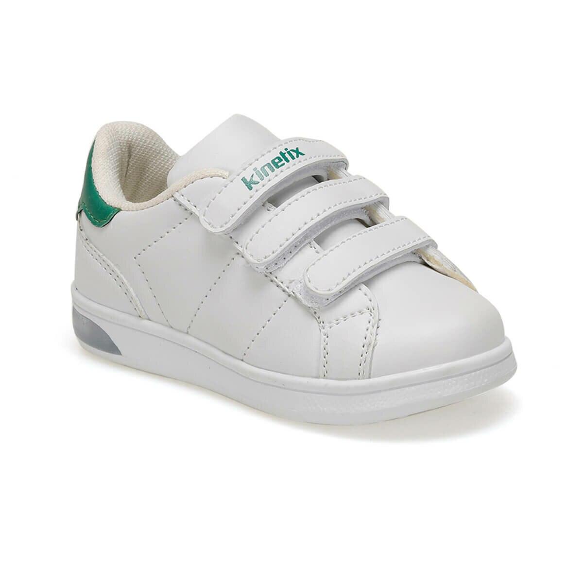 FLO PLAIN J 9PR White Male Child Sneaker Shoes KINETIX