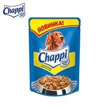 """Влажный корм для собак Chappi """"Сытный мясной обед"""", Апп"""