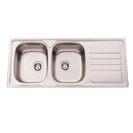 Sink With Drainer With/without Hole Faucet De12050