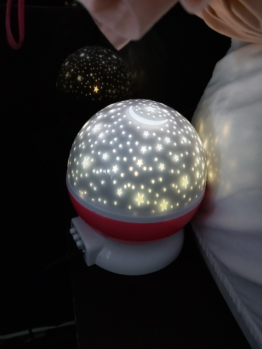 SleepMake iX Dreamlight Sky Projector Star Moon Galaxy Night Light photo review