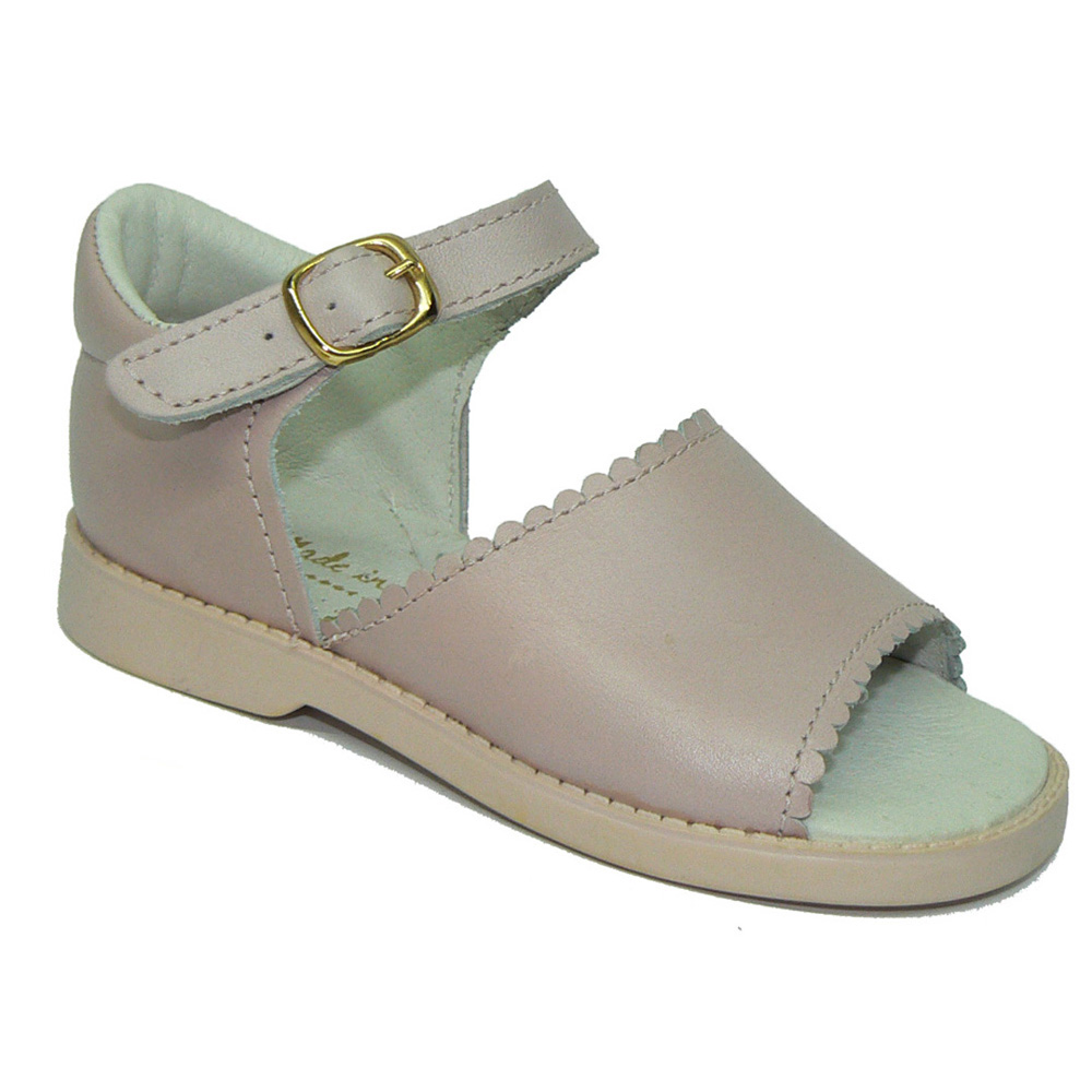 SHOES ROSEMARY 164 Leather Sandal First Steps And Toe For Baby Girl