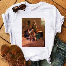 Женская футболка забавные однотонные повседневные футболки милая