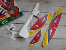 The plane bought for 250 rubles. Delivery was with tracking. The plane is battery operated