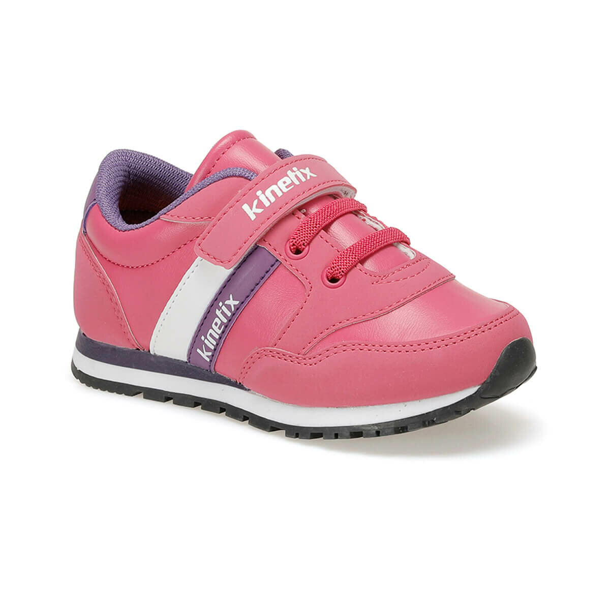 FLO PAYOF PU 9PR Fuchsia Female Child Sneaker Shoes KINETIX