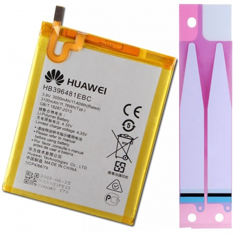 Bateria Original HB396481EBC Para Huawei G7 Plus / G8 / GX8 / G8X / Honor 5A / 5X / Y6 II