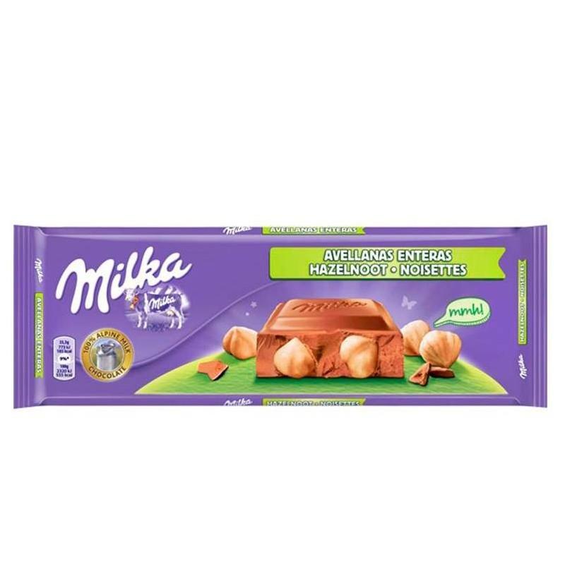 Milka whole hazelnuts, 270gr