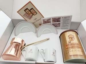 Turkish Coffee Turkey-Fast in Set-6g-100g-250g-Made Kurukahveci Mehmet Efendi