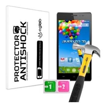 Protector de pantalla Anti-choque Anti-rasguño Anti-rotura compatible con avenzzo Xirius 5