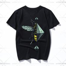 Пчелы fele футболка для мальчиков летняя модная в стиле harajuku