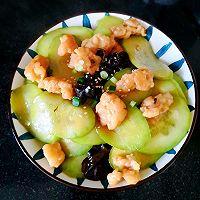 简单快手菜#虾滑黄瓜片的做法图解8
