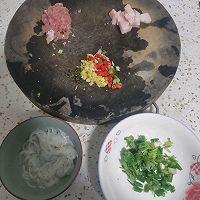 银鱼猪肉汤(麻辣)的做法图解1