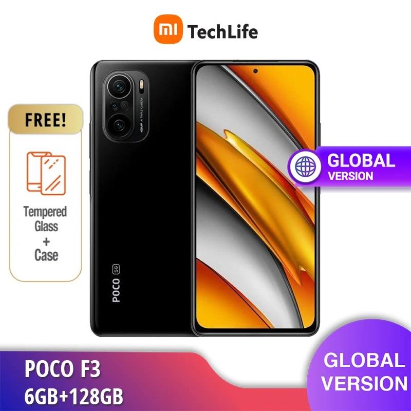 [Global Version] POCO F3 6GB RAM 128GB ROM Dual Sim 5G (Brand New / Sealed)   Snapdragon   Smartphone Mobile Free Shipping