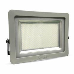 Фокус светодиодный тонкий 300 W-24000Lm 6000K холодный белый цвет корпуса серый, высокая мощность IP65