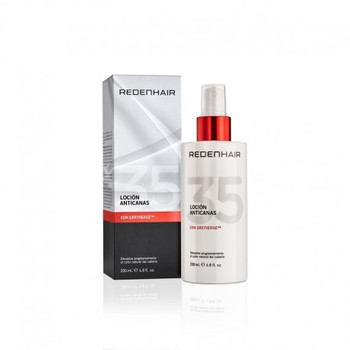 Professional anti-gray lotion | Anti-gray hair shampoo | Anti-gray hair treatment | Anti-Gray women and men | REDENHAIR
