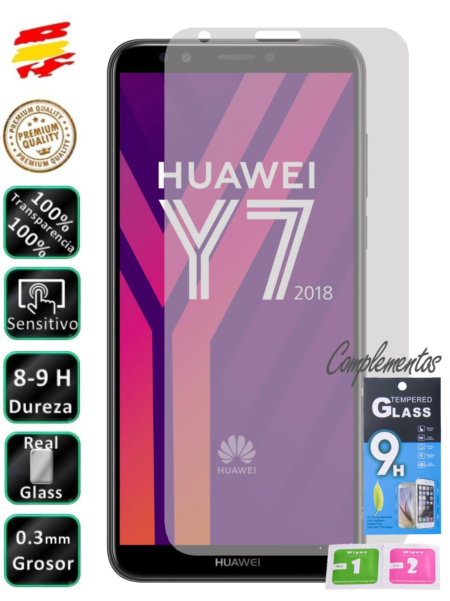 For Huawei Y7 2018 Tempered Glass Screen Glass 9H For Mobile