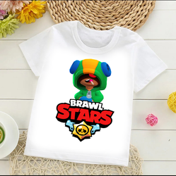 الاطفال T قميص Бравл старс
