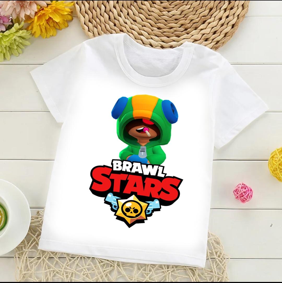 Kids T Shirt Бравл старс