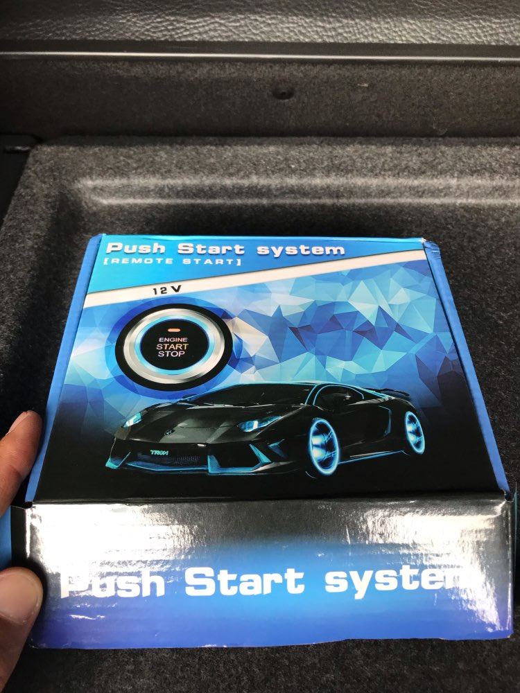 Semoic Universal Car Engine Car Alarm Push Start Button Rfid Lock Ignition Starter Keyless Tpms Entry Start Stop Immobilizer