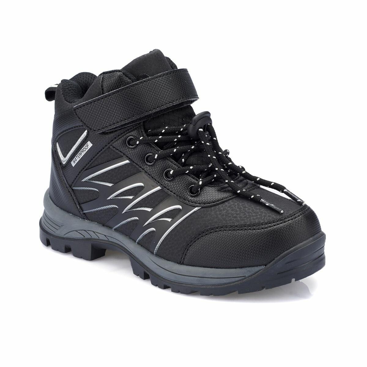 FLO 82. 510953.F Black Male Child Outdoor Polaris Boots     - title=