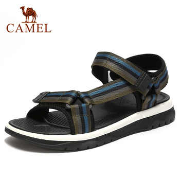 CAMEL Spring Men's Sandals Comfortable Breathable Genuine Leather Shoes Men Outdoor Beach Sandals  Lightweight Man Shoes - DISCOUNT ITEM  40% OFF All Category