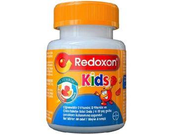 Redoxon Kids 60 tabletki do żucia tanie i dobre opinie Mężczyzna 12 + y DE (pochodzenie)