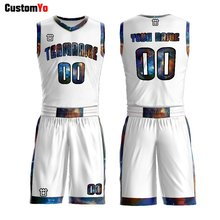 2019 New Style Custom Sublimation Printing Design Team Basketball Jersey(China)