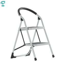 95665 Barneo ST-32 Ladder Staal 2 stage Wit enkelzijdig max belasting 150 kg gratis verzending naar Rusland