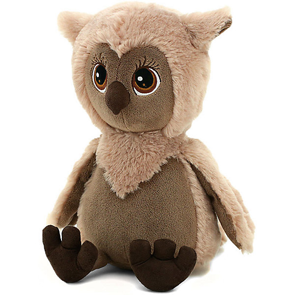 Soft Toy Orange Life Owl Sonia, 20 Cm