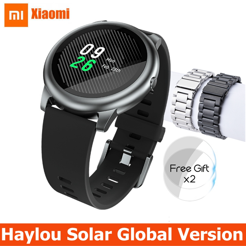 Xiaomi Haylou Solar Smart Watch Global Version IP68 Waterproof Sport fitness Bracelet LS05 Smartwatch Women Men For Android iOS