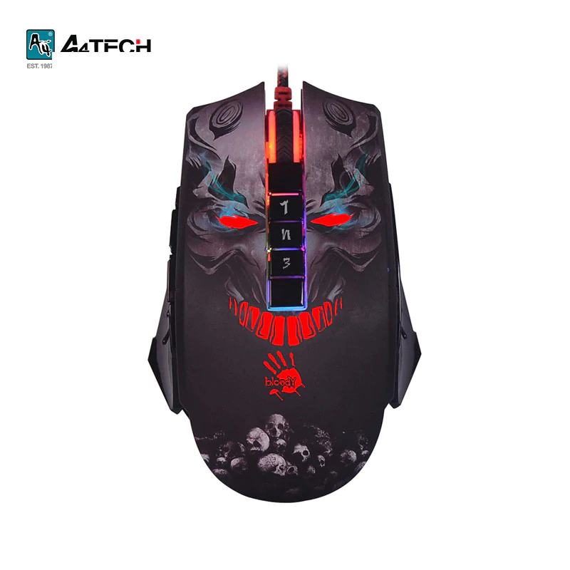 купить Gaming mouse A4Tech Bloody P85 Officeacc онлайн