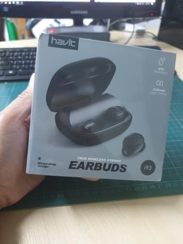 HAVIT I93 TWS Mini Wireless Earbuds In ear Bluetooth Earphone V5.0 Sport IPX5 Waterproof with 2200mAh Box Rechargeable Headset|Bluetooth Earphones & Headphones|   - AliExpress