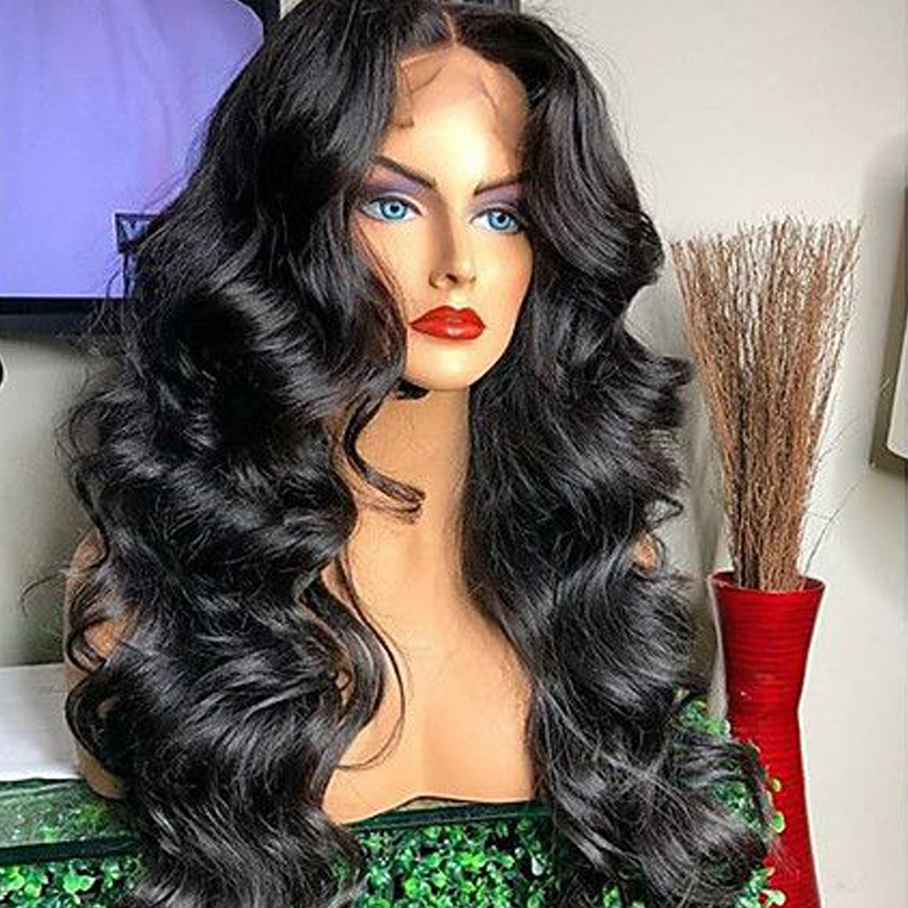Body Wave Lace front Human Hair Wigs Pre plucked with Baby BEAUDIVA Brazilian 13*4 For Women