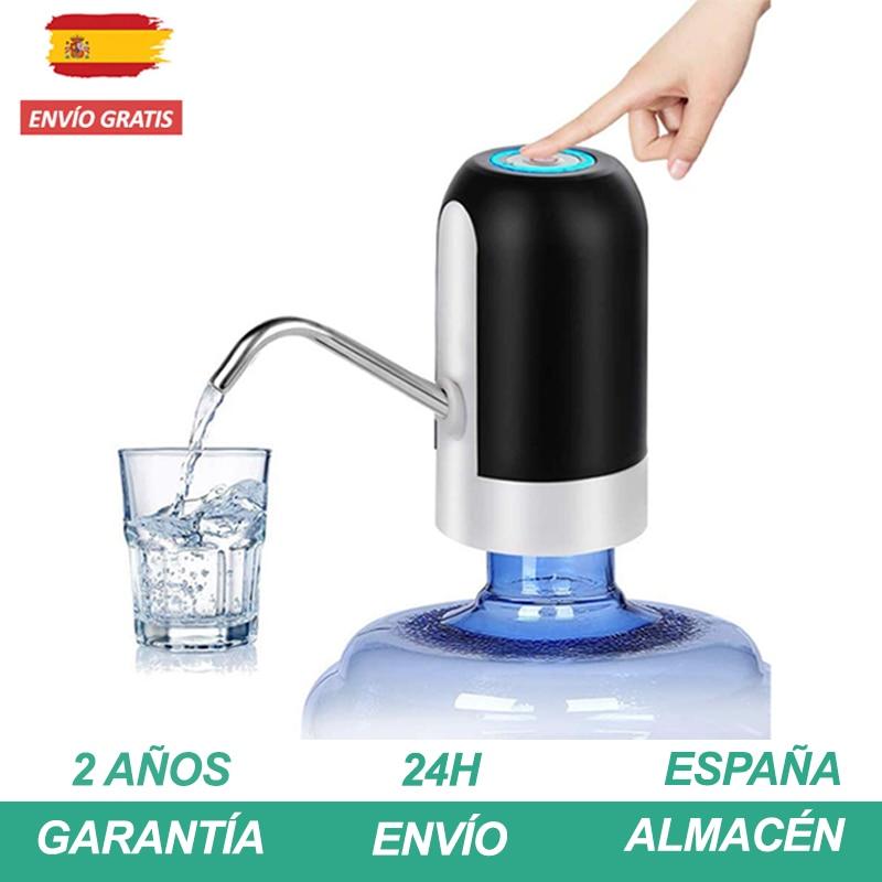 Dispensador de água elétrico Bomba de água automática para garrafa de carregamento USB Material Mangueira segura sem dispensador de tóxicos e aço inoxidável removível Dispensador de água fácil de usar para escola casa
