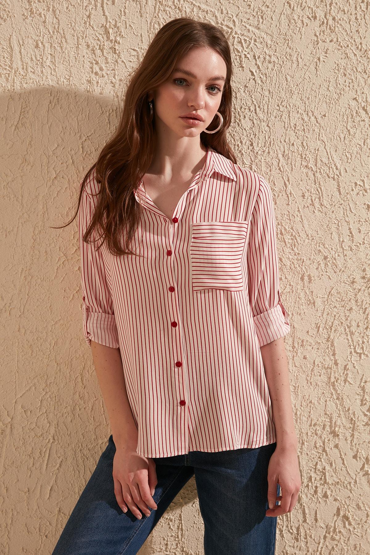 Trendyol Button Detail Shirt TWOSS20GO0224