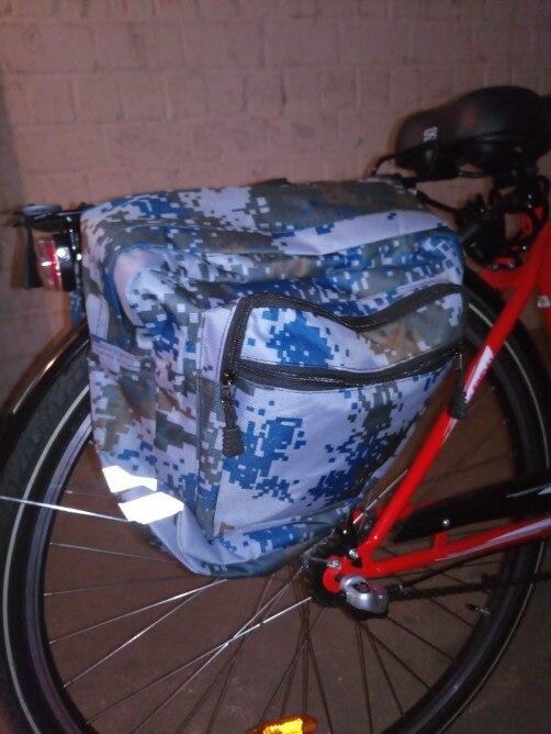 Cestos e bolsas p/ bicicleta pannier tronco traseiro