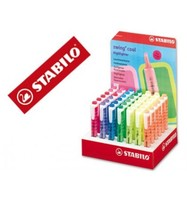 MARKER STABILO FLUORESCENT SWING COOL DISPLAY 42 UNITS