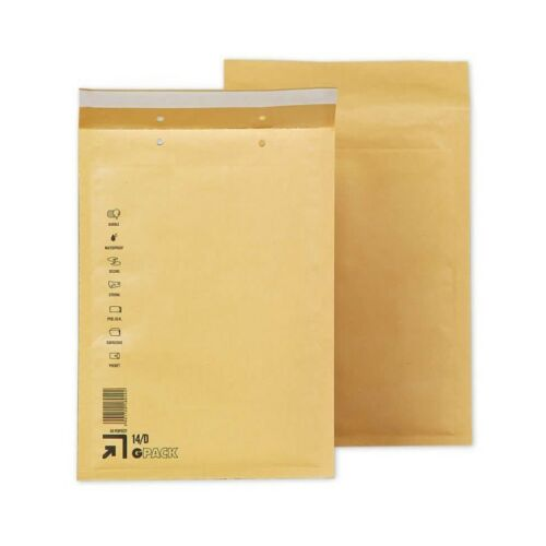 Padded Envelopes From Bubbles Plasticized For Shipments Bags Brown GPACK Choose Model/size And Quantity To Receive