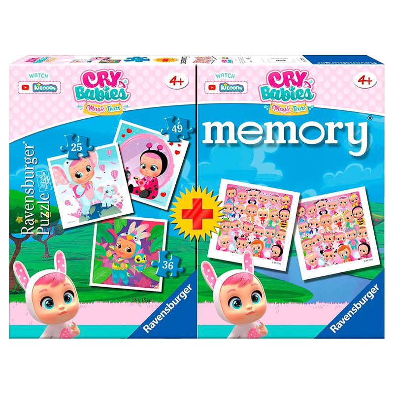 Multipack Memory + 3 Puzzles Weeping Babies