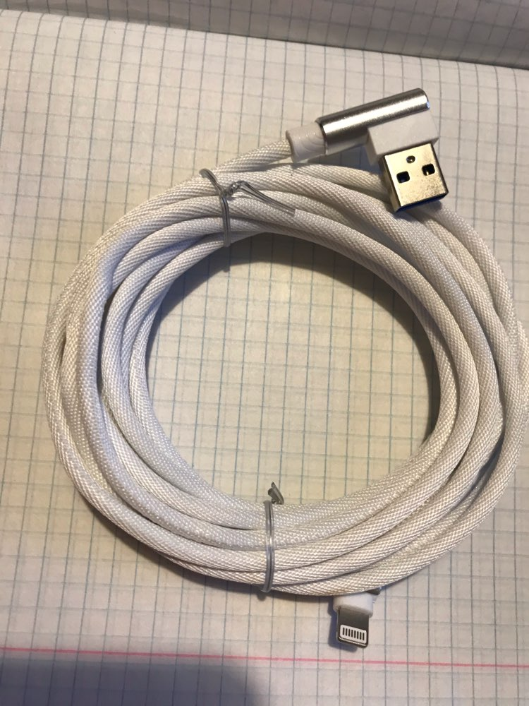 90 Degree USB Fast Charge Cable For iPhone X Xs Max XR 8 7 6 6S Plus 5 5S SE iPad L Type Charger Origin Accessory Cord Wire 2 3m|Mobile Phone Cables| |  - AliExpress