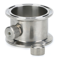 "1,5""   4"" Tri clamp pipe with thermowell  nipple . Stainless steel 304"