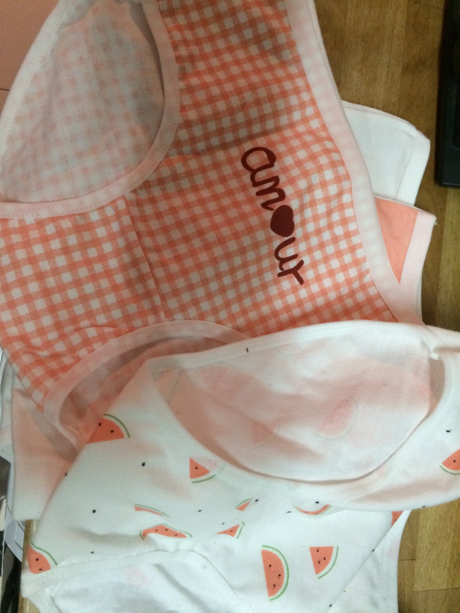 New Fashion 4Pcs/Lot Girl Panties Sweet Underwear Cotton Briefs Lovely Lingerie Soft Comfortable Striped Panty 863 photo review