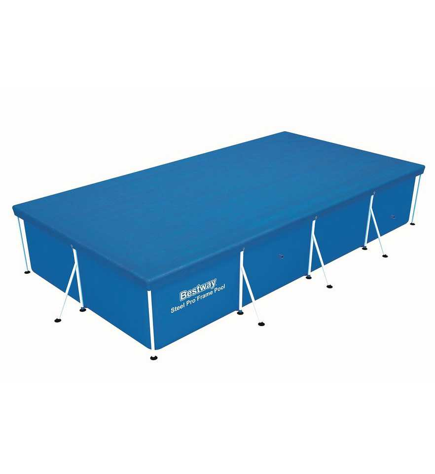 Awning For Frame Swimming Pool 300 х201х66 Cm, Accessory For Swimming Pool, Bedspread On Pool, Protection, Bestway, Item No. 58106