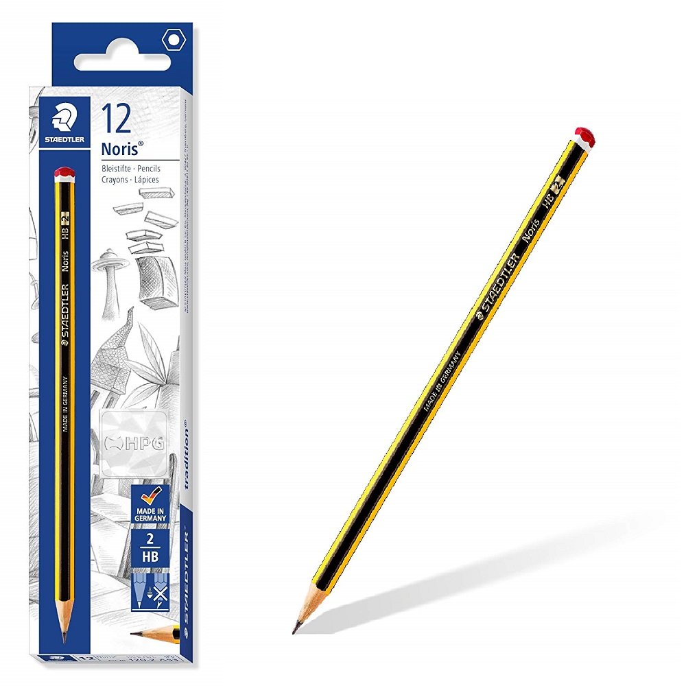 Staedtler Noris-Pencil, School Supplies-Office, Pack 12 Pencils