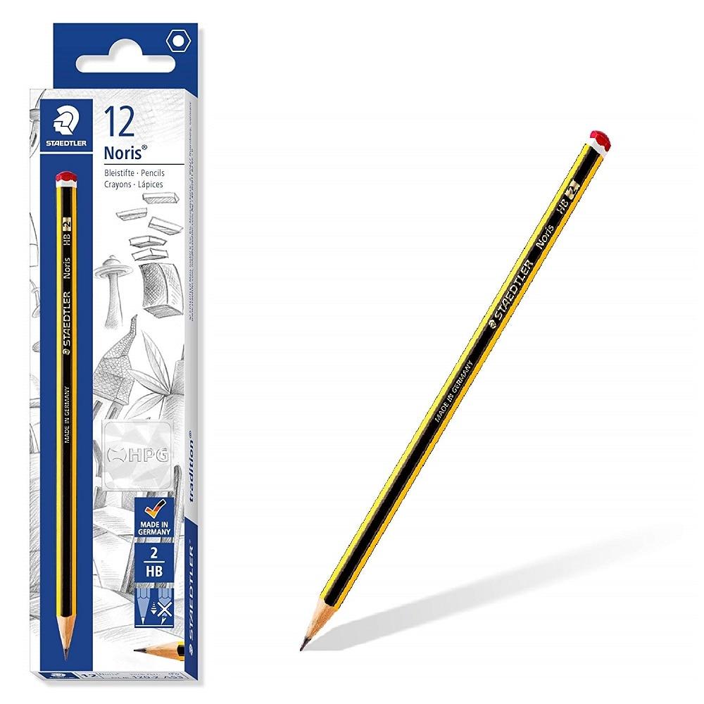 Staedtler Noris-Pencil, School Supplies-Office, Pack 12 Pencils