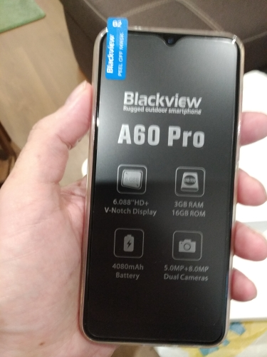 Blackview A60 Pro Smartphone MTK6761 Quad Core Android 9.0 4080mAh Cellphone 3GB+16GB Waterdrop Screen Face ID 4G Mobile Phone|Cellphones|   - AliExpress